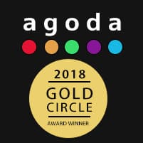 Agoda Gold Circle Award 2018 World accommodation